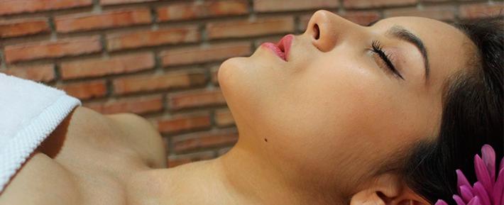 mujer tratamiento linfatico